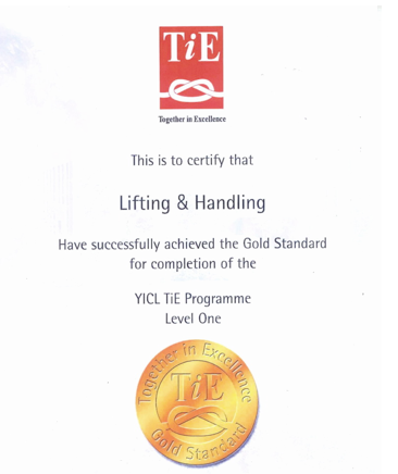 Gold Standard Certification
